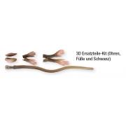 Savage Gear 3D Rad Ersatzteile-Kit (Ohren, Füße und Schwanz) - Limitedt Edition