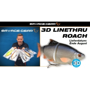 Savage Gear 3D LINE-THRU ROACH - Limited Edition