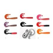 Zebco Curly Tail Twister 6 & 8 cm *NEU*